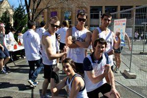 Chendogs Dodgeball Team for Fundraiser