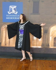 Graduating from Bachelor of Science