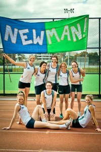Newman Girls' Athletics Team