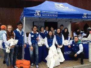 Volunteering for Melbourne University Open Day 2013